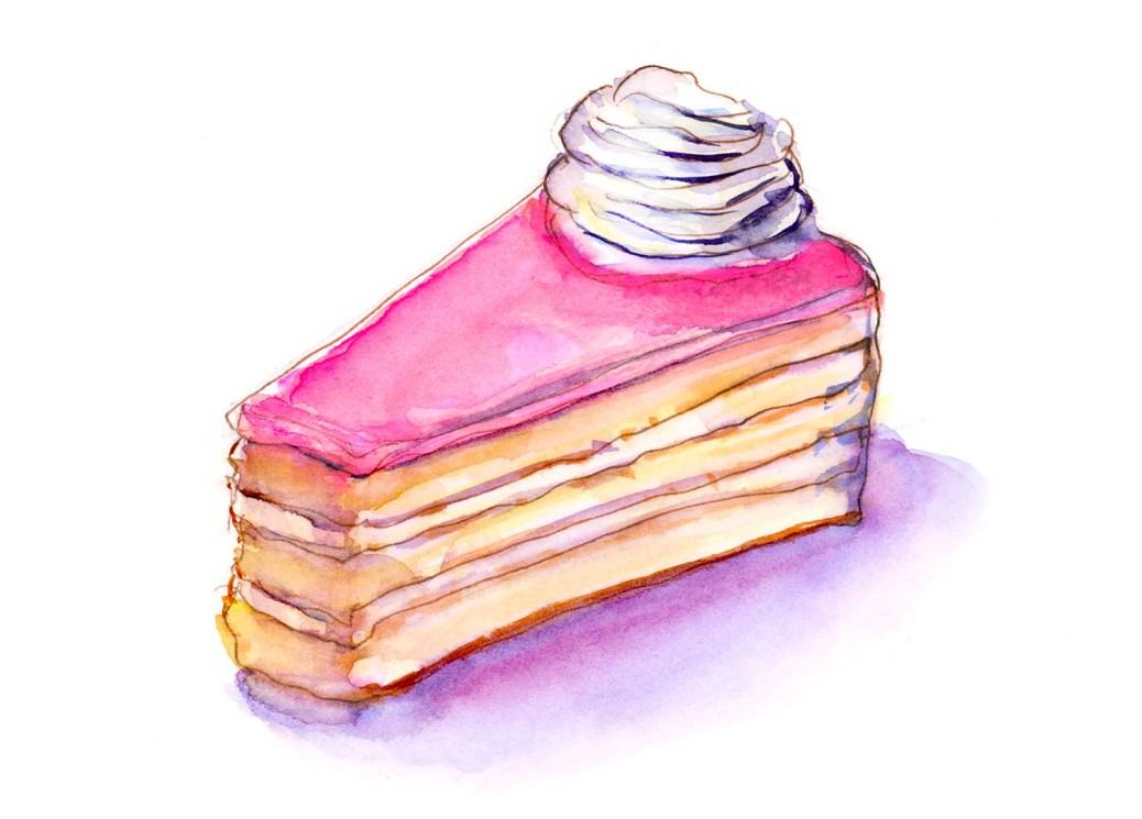 Day 13 - Birthday Blast Pink Cake - #doodlewashApril2018 Doodlewash