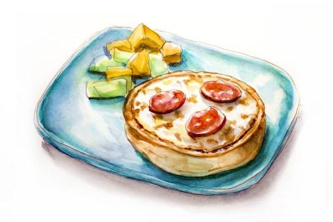 Day 22 - A Personal Pizza - #doodlewashApril2018 Doodlewash