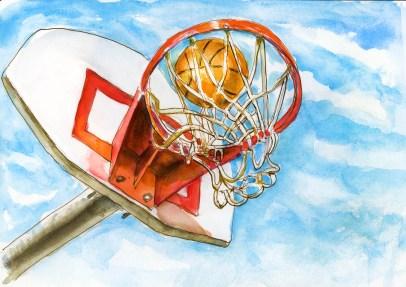 Day 25 - Backyard Basketball_