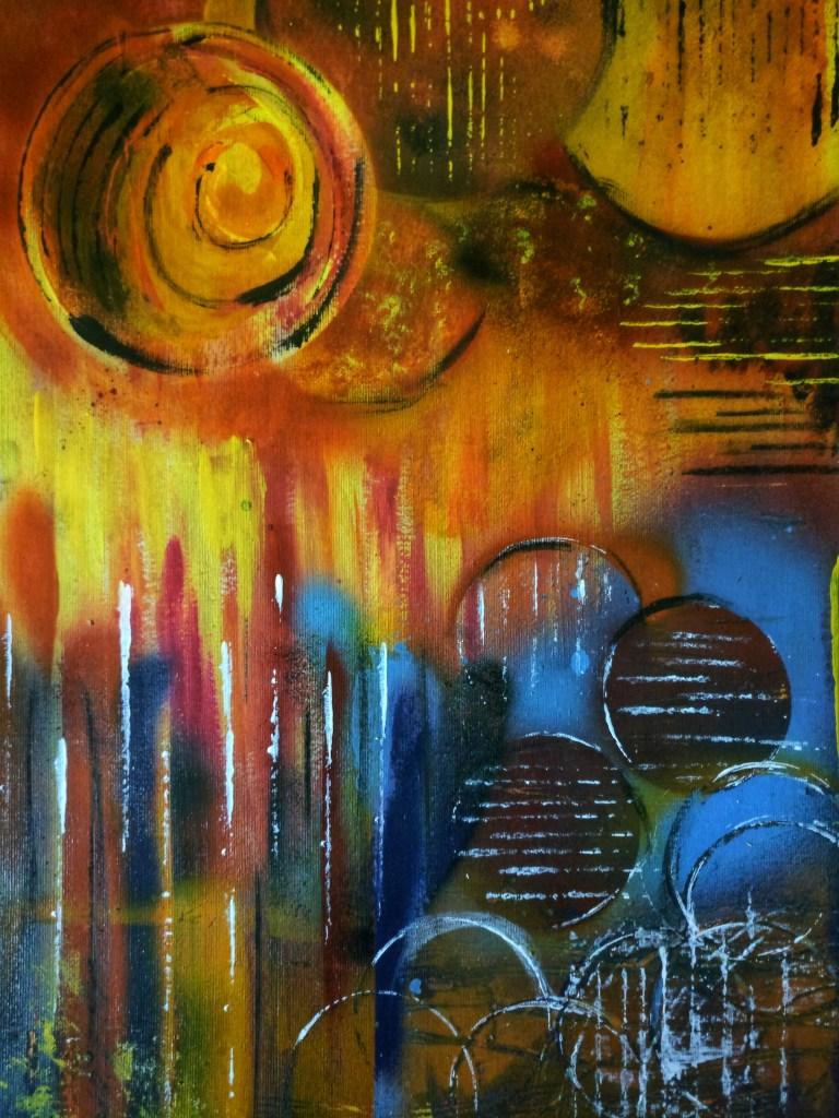Symmetric art . Acrylic abstract . IMG_20180403_215022-01