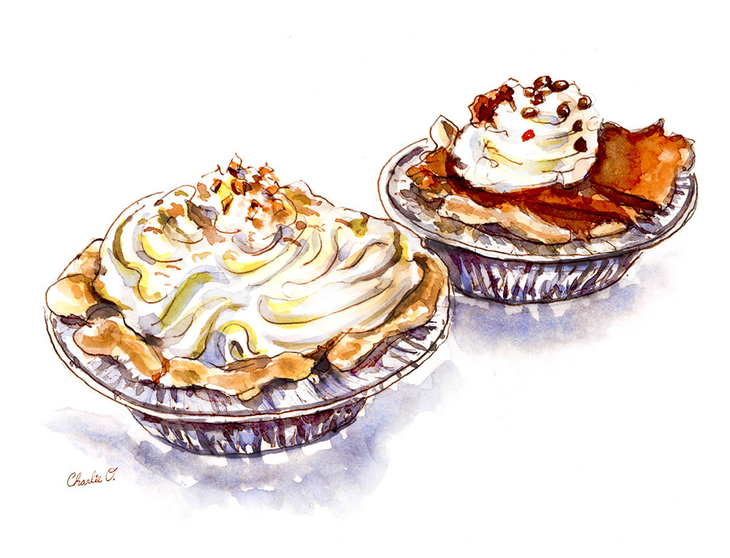 Shiny Happy Treats Da Vinci Trio ©Doodlewash