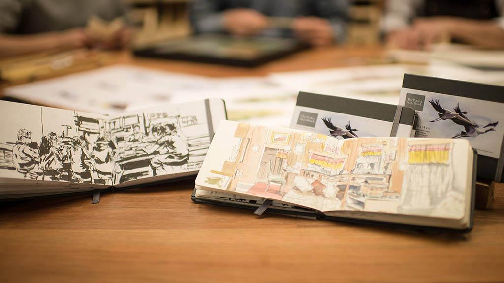 The Perfect Sketchbook - Erwin Lian - Doodlewash - Urban Sketchers