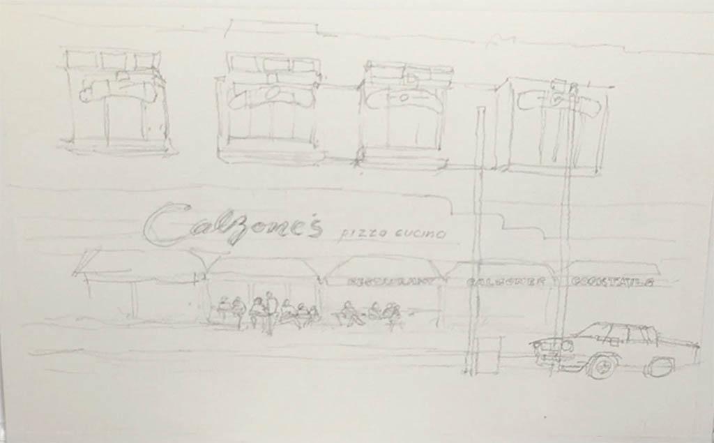 Sketch Closeup - Watercolor University Tutorial by William Bill Dunn - Doodlewash