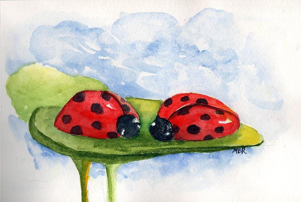 5/21/18 Ladybugs Modified from a Pixabay image. 5.22.18 Ladybugs img546