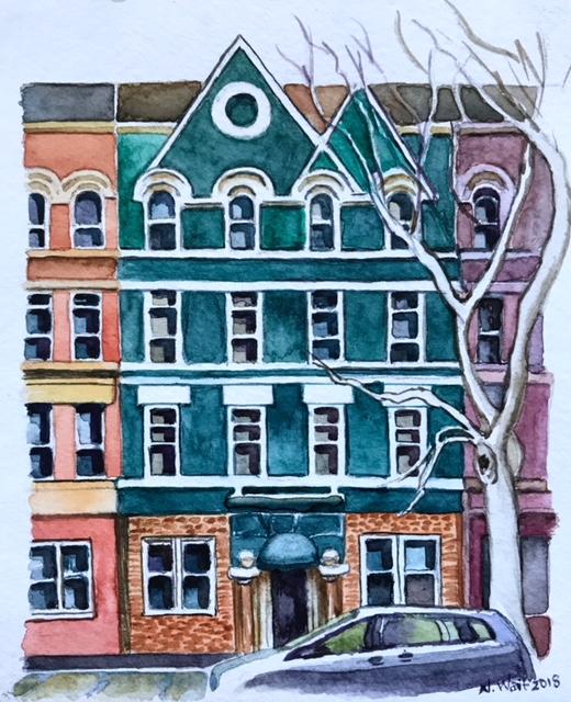 Brooklyn Whimsy 6×6 inches Brooklyn Whimsy