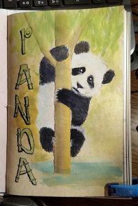 Day 30 May Challenge – Panda Day 30 #Doodlewash #doodlewashMay2018