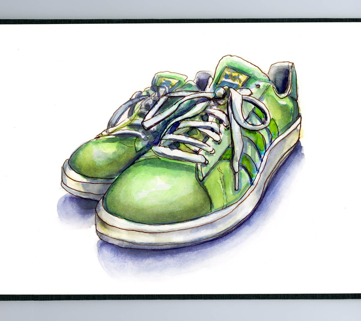 Day 7 - Shoes - Life In Sneakers - #doodlewashMay2018 Doodlewash