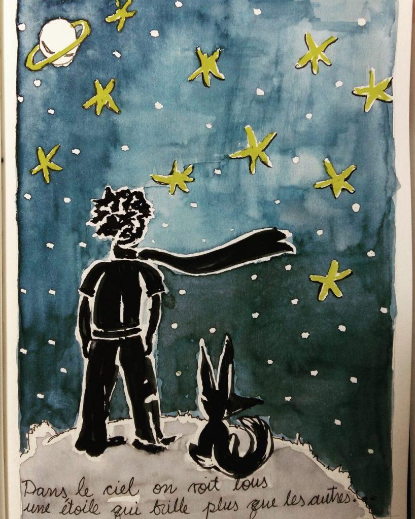 Día 4: stars Le Petit Prince 💙 20180506_194724IMG_20180506_195634_989