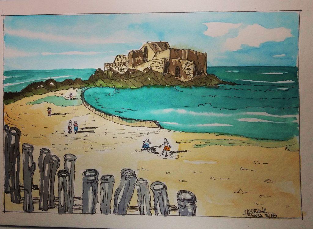 Día 11:Beach Saint Malo – Bretagne – France IMG_20180511_230401_432