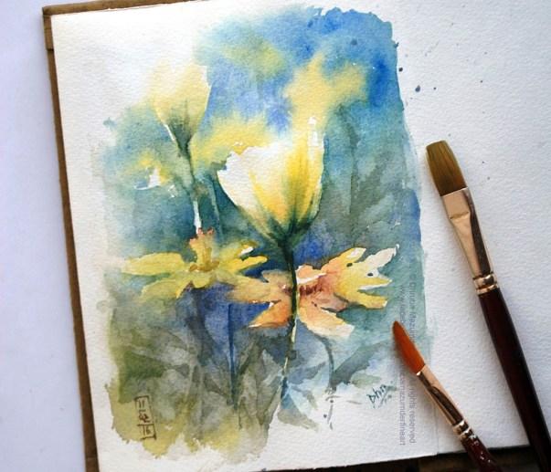 Watercolour Sketch by Dhruba Mazumder - Doodlewash.com - #WorldWatercolorGroup