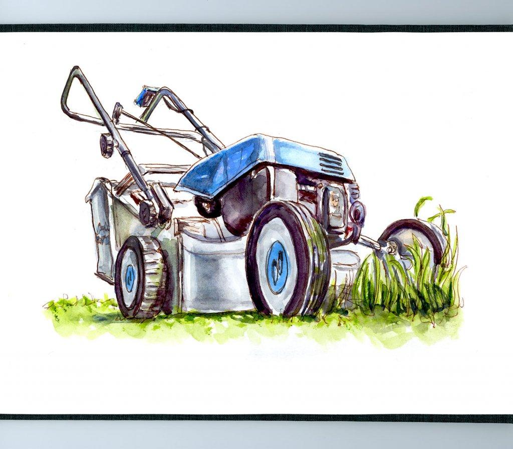 Day 2 - The Return Of The Lawnmower - #doodlewashJune2018 Doodlewash
