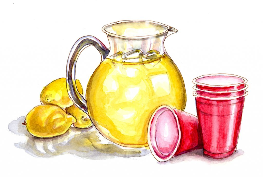Summer Memories Of Lemonade