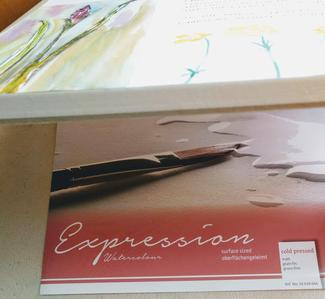 Hahnemühle Expression watercolor block 100% cotton
