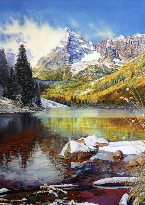 Watercolor Painting by Joel R. Johnson NWS - Doodlewash - #WorldWatercolorGroup