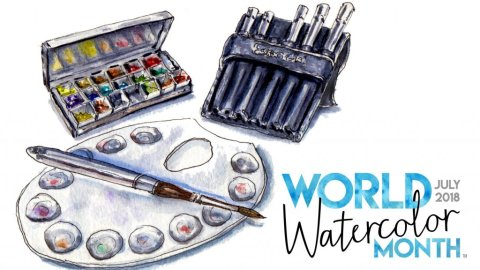 31 Days Of Watercolor - World Watercolor Month 2018