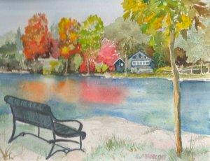 #doodlewashJune2018 This small park is located in Lakefield Ontario. park