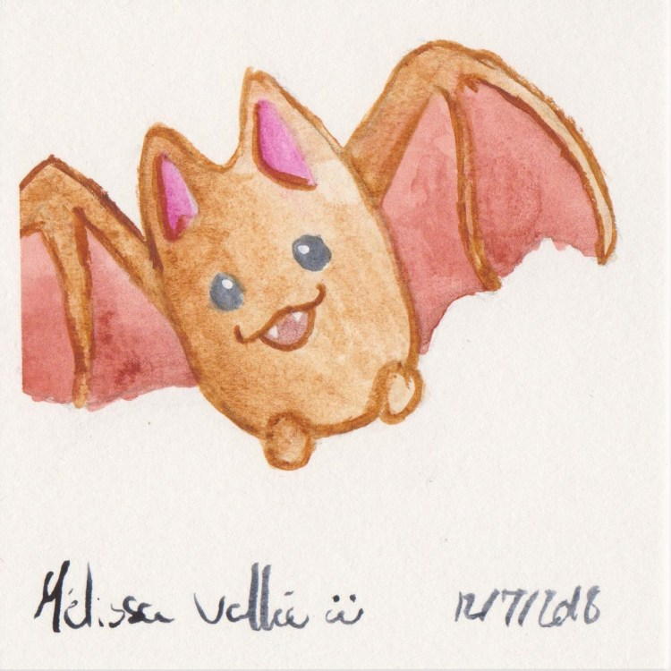 #WorldWatercolorMonth Day 12 014
