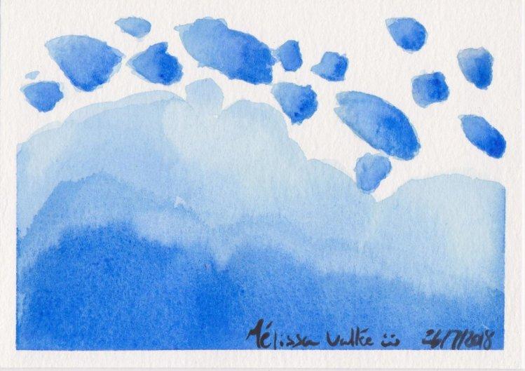 #WorldWatercolorMonth Day 26: Splashing Around 028