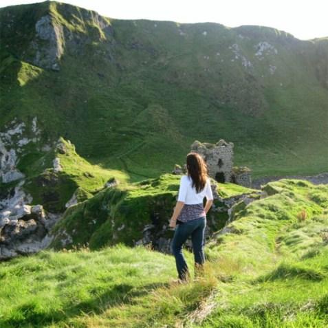 Northern Ireland Kinbane Castle - Photo Esther Moorehead - Doodlewash