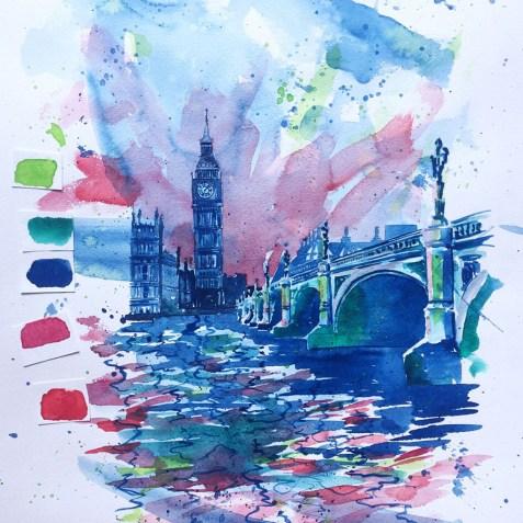 Loose Watercolor Esther Moorehead - Doodlewash