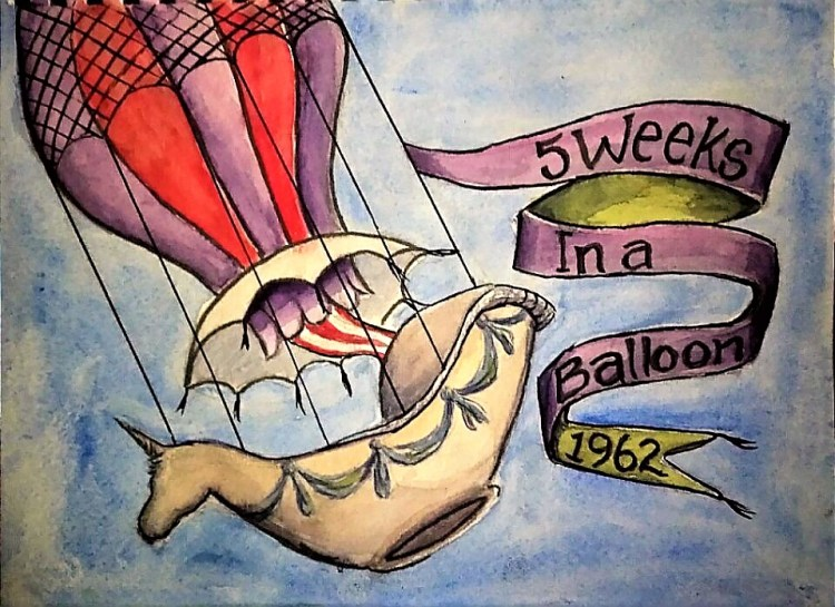 "In 1962 this movie, ""5 Weeks in a Balloon"", made my 9 year old imagination fly. ""T"