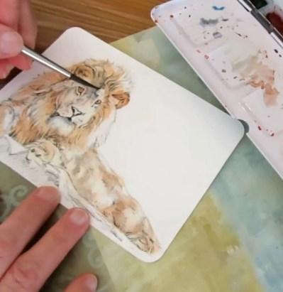 Add Juicy Cobalt - Paint A Lion