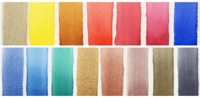DANIEL SMITH Half Pans Watercolor Set 6 Ultimate Mixing Jane Blundell - Doodlewash