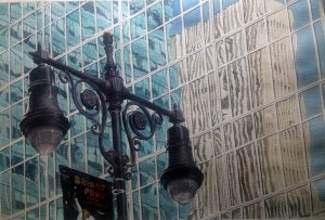 Bryant reflection – Daniel Smith watercolors on Fabriano Artistico cold press paper 640gsm Gio