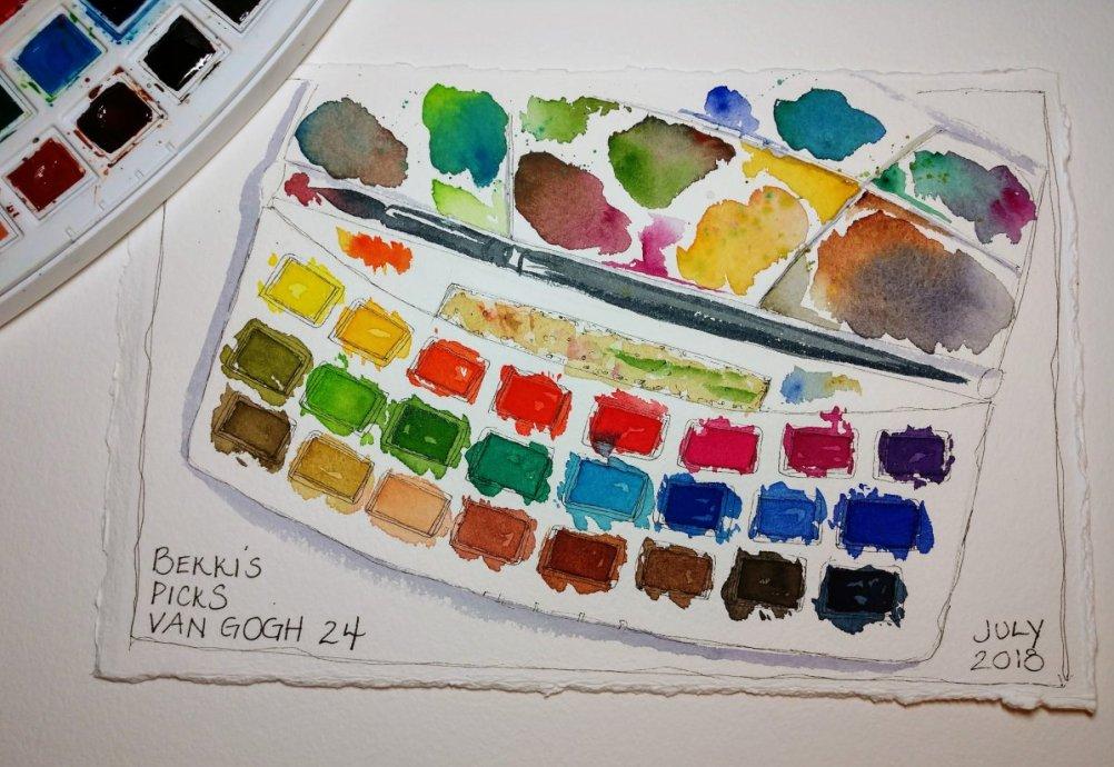 van gogh watercolor review doodlewash