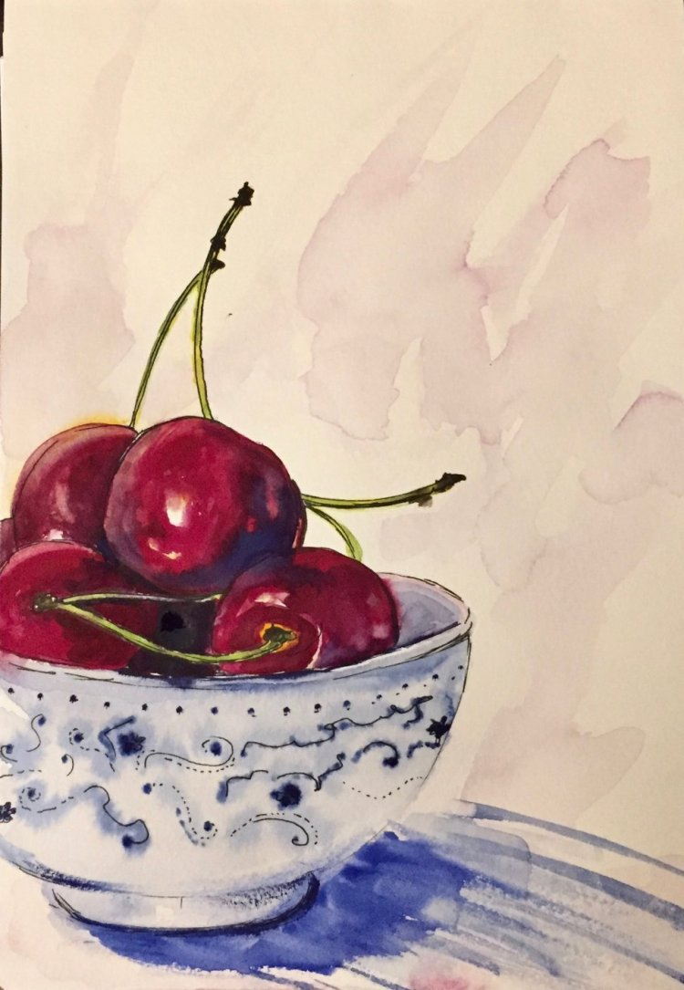 """Life is a bowl of cherries"" 🙂 IMG_2117"