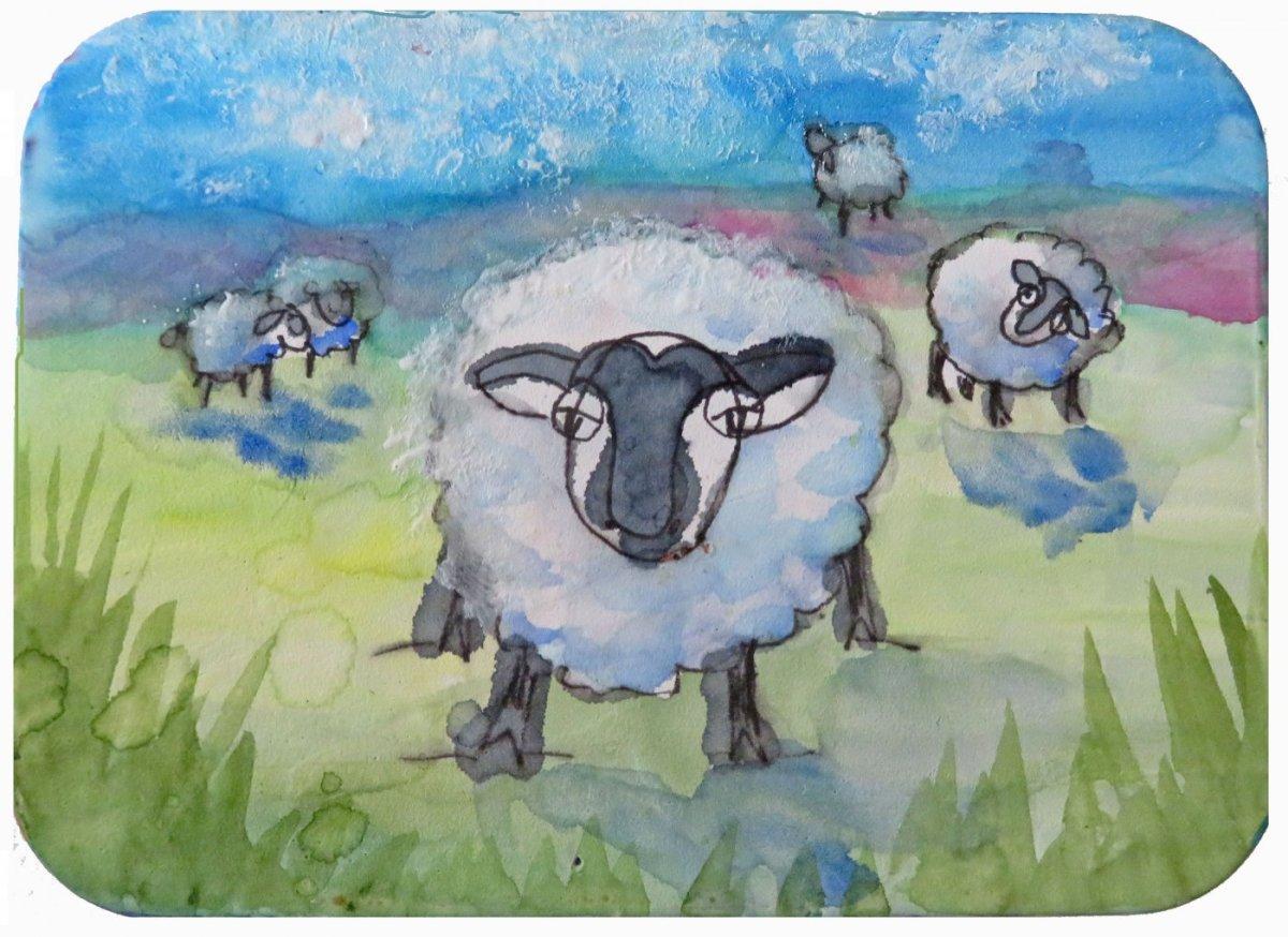QoR Watercolor Ground Example Painting Sandra Strait - Doodlewash