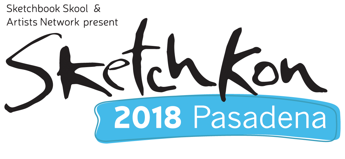 Sketchkon 2018 Pasadena Logo