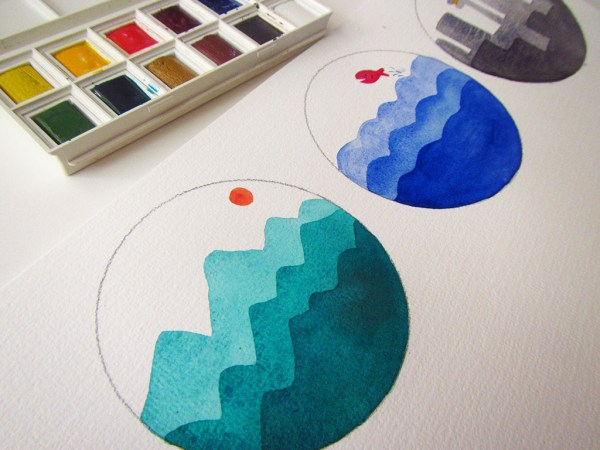 Watercolor Project For Kids - Learning Value - Andrea England - Doodlewash