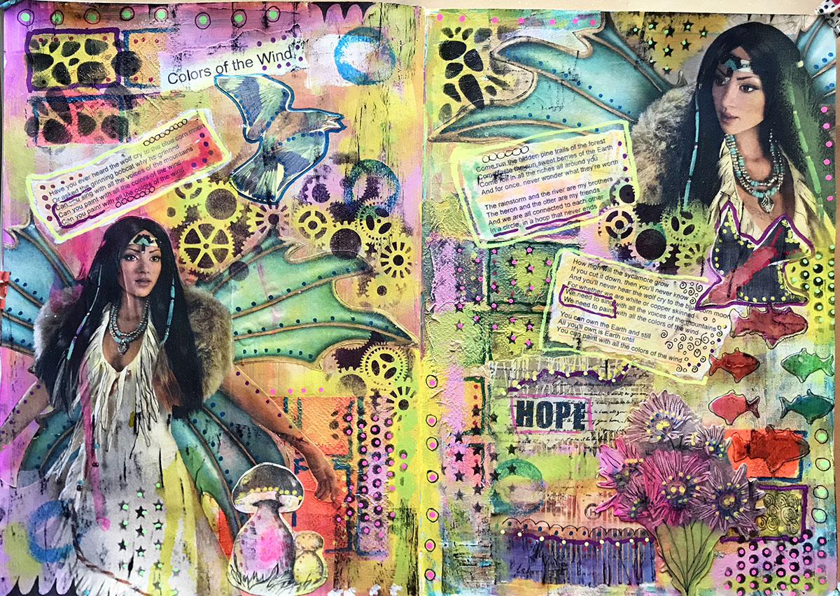 Mixed Media by Alice Hendon - Doodlewash