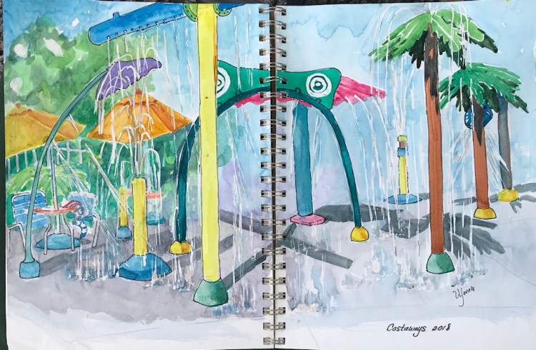 water park small