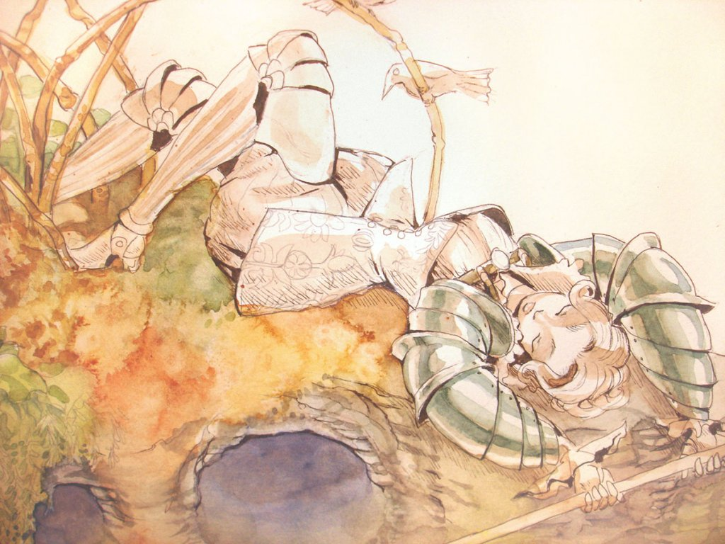 Watercolor Illustration by Odd Jacobson - Doodlewash