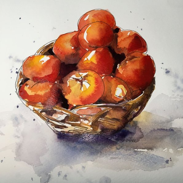 Watercolor Painting by Jim Huppenthal