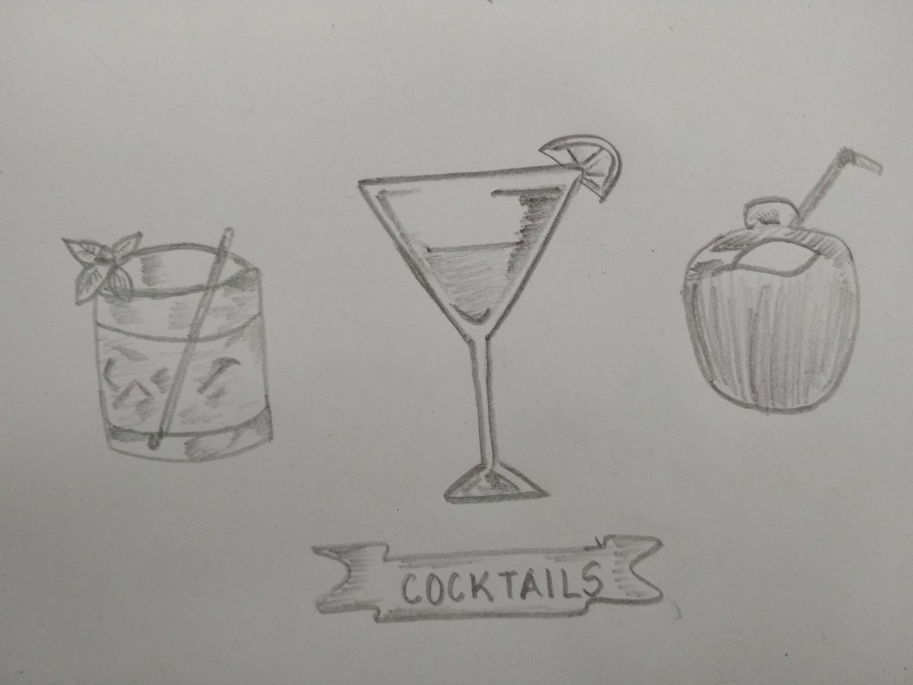 Day 20 #doodlewashAugust2018 #Cocktails IMG_20180820_082621