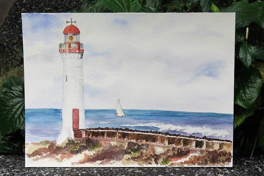 Watercolor Painting by Shereen Kaur - Doodlewash