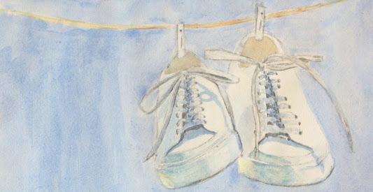 – #20Day #ComfortableShoe #WorldWaterColorMonth #DoodleWashAugust2018 unnamed (4)