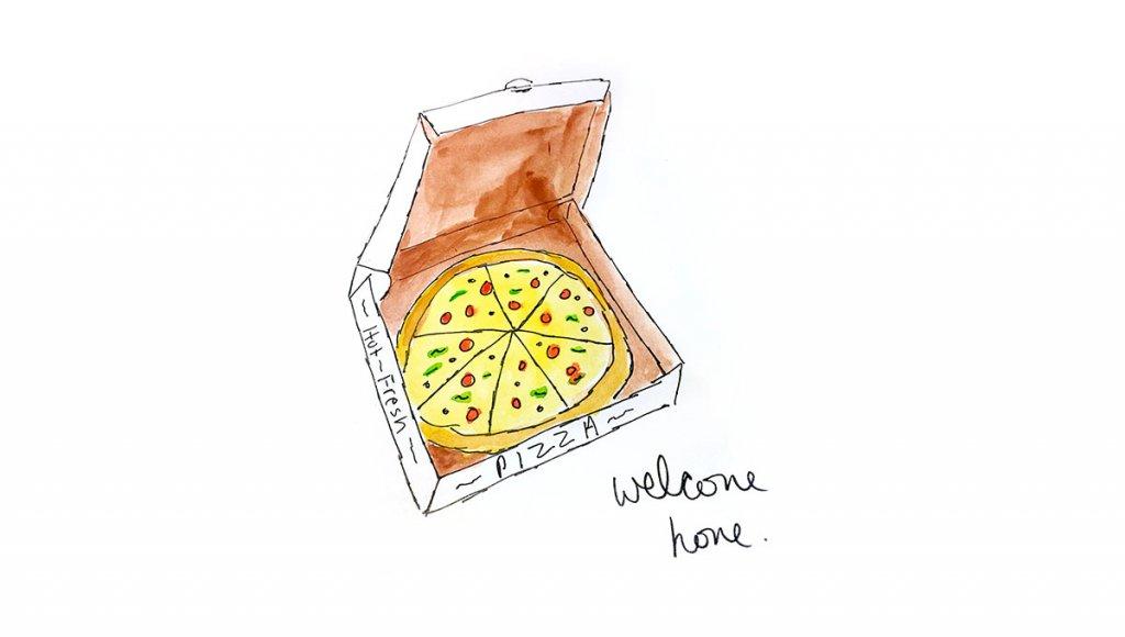 Watercolor Illustration by Erin Williams - Doodlewash