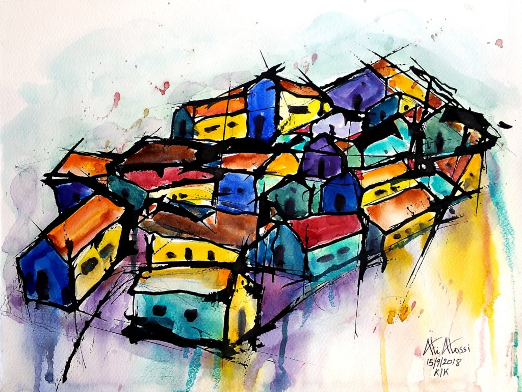 """my new series """"Cyprus Villages"""" 20180919_222021 (Large)20180919_221915 (Large)20180917_1"""