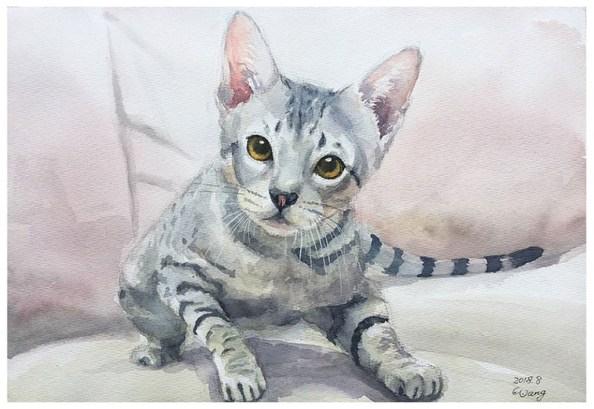 Watercolor Painting by Jeff Wang (王光華) - Doodlewash