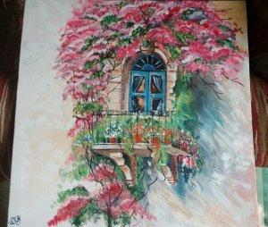 Acrylic paint on canvas IMG_20180831_135840_644