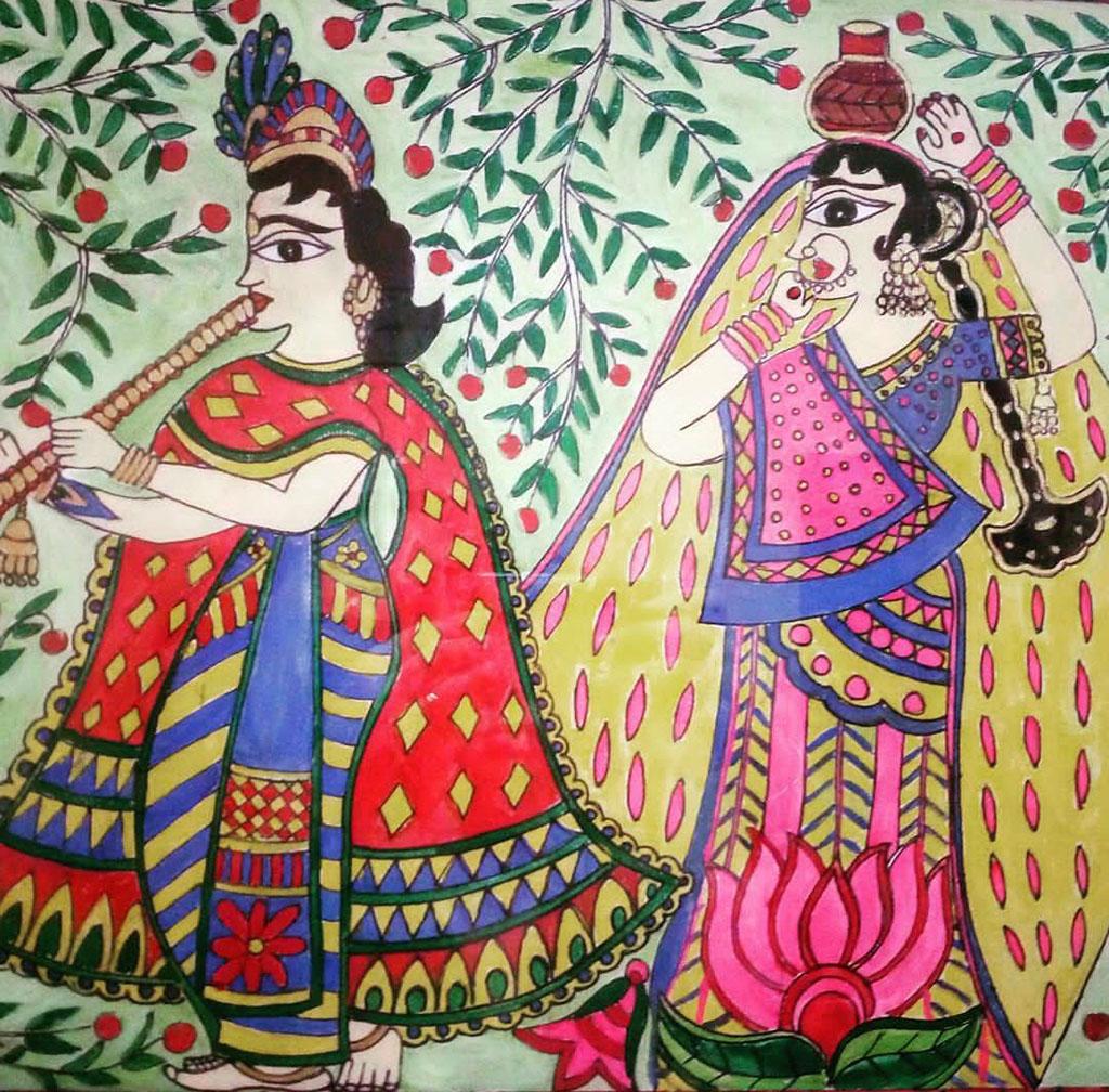 Painting by Sonia Dutta - Doodlewash