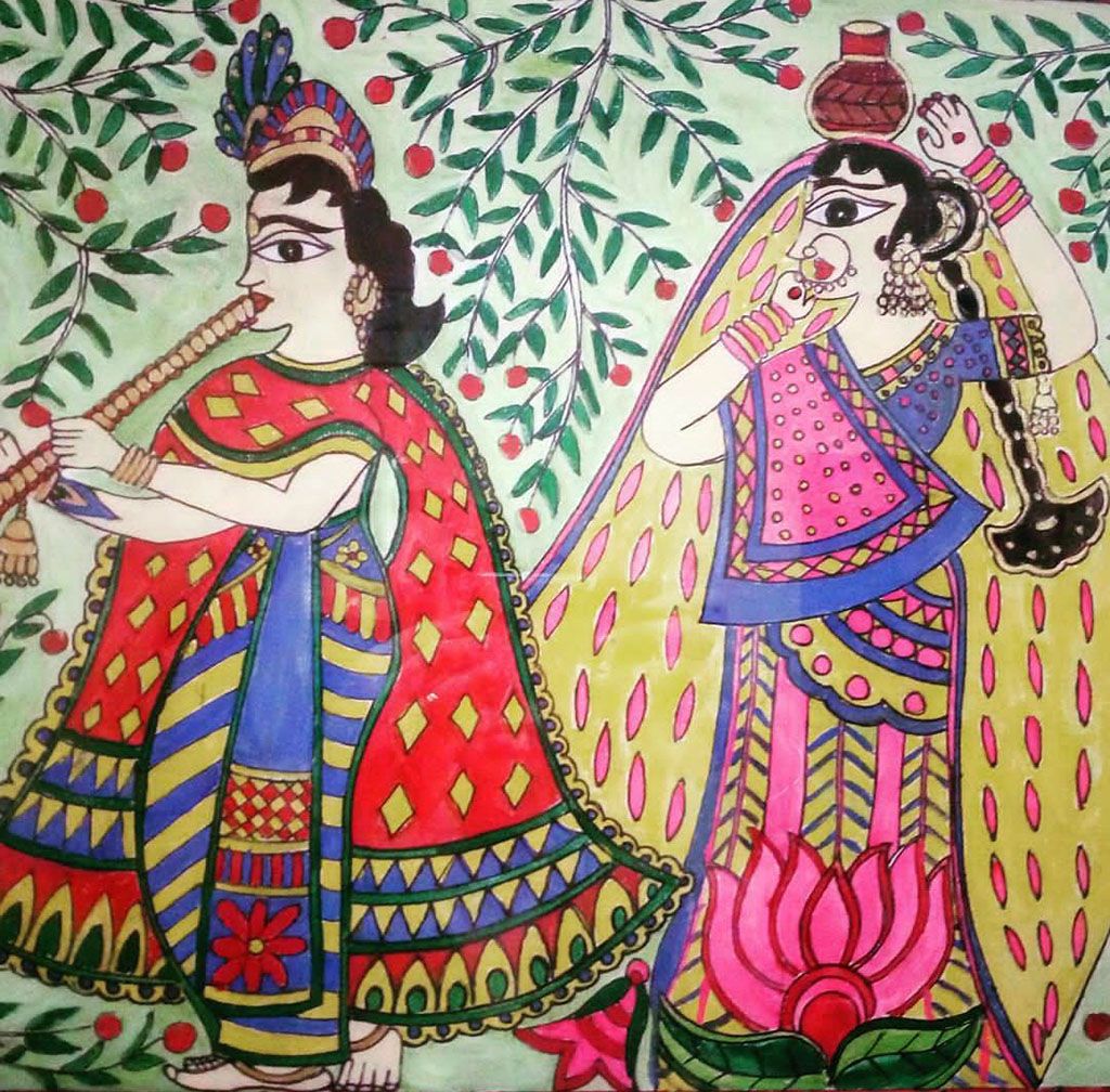 Painting by Sonia Dutta - Doodlewash