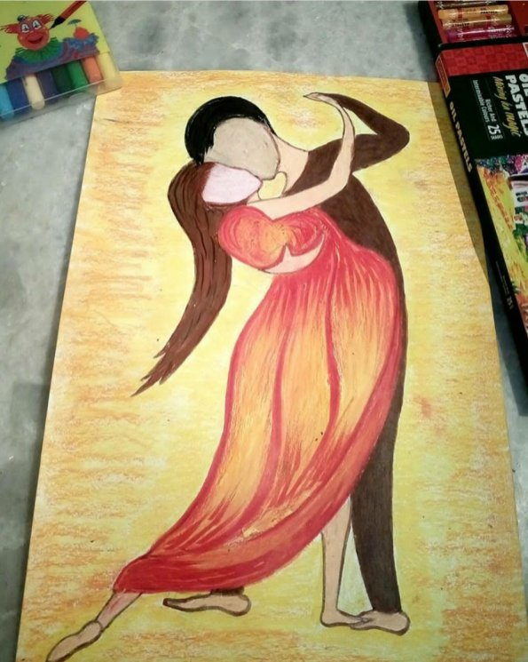 People Dancing by Sonia Dutta - Doodlewash
