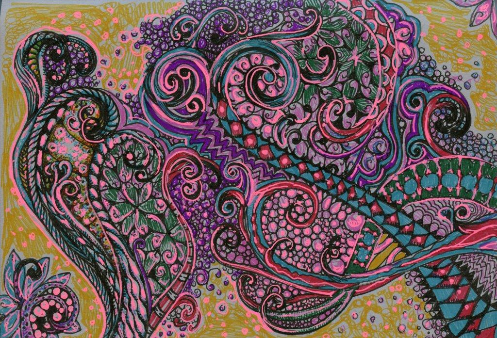 Illustration by Sandra Strait - Doodlewash