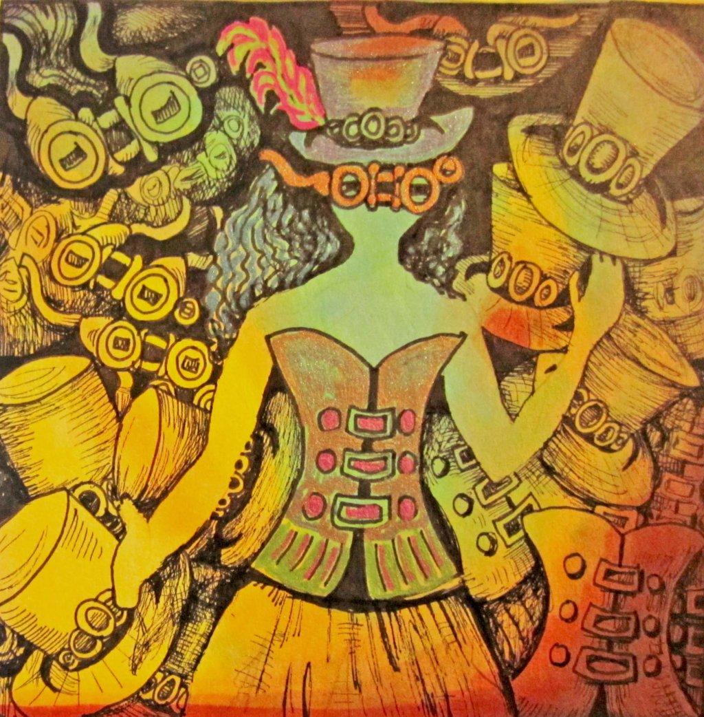 Steampunk Art by Sandra Strait - Doodlewash