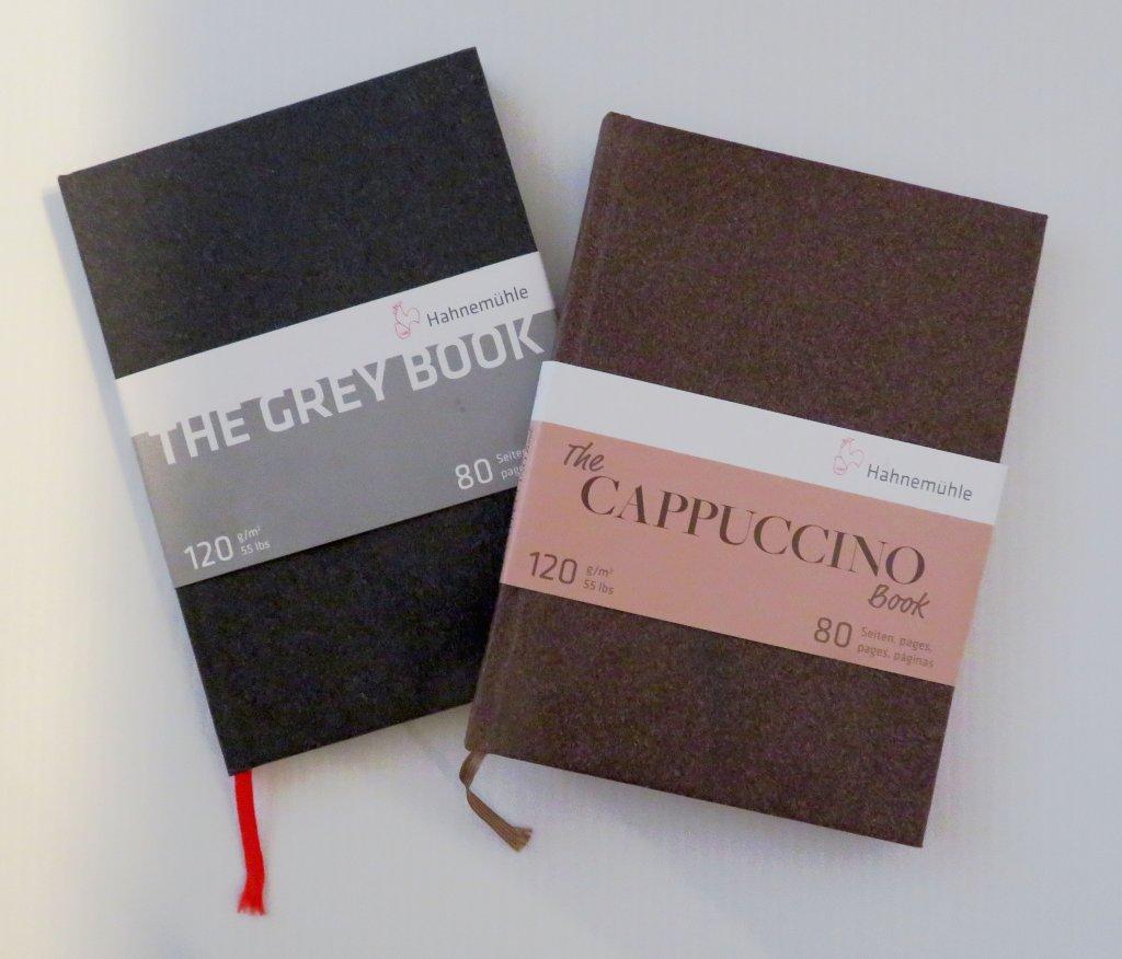 Hahnemühle Cappuccino Book & Grey Book Review - Doodlewash